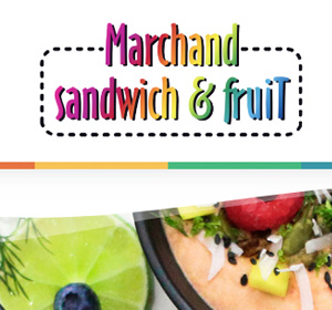 <span>Marchand sandwich & fruit</span><i>→</i>